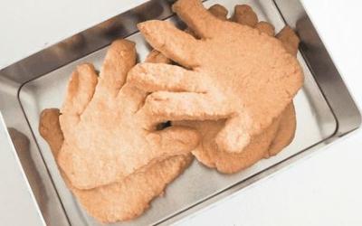 Koekje van eigen hand