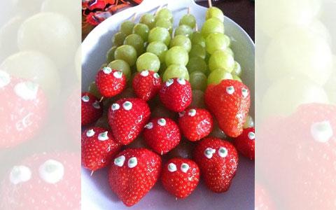 druiven slang traktatie